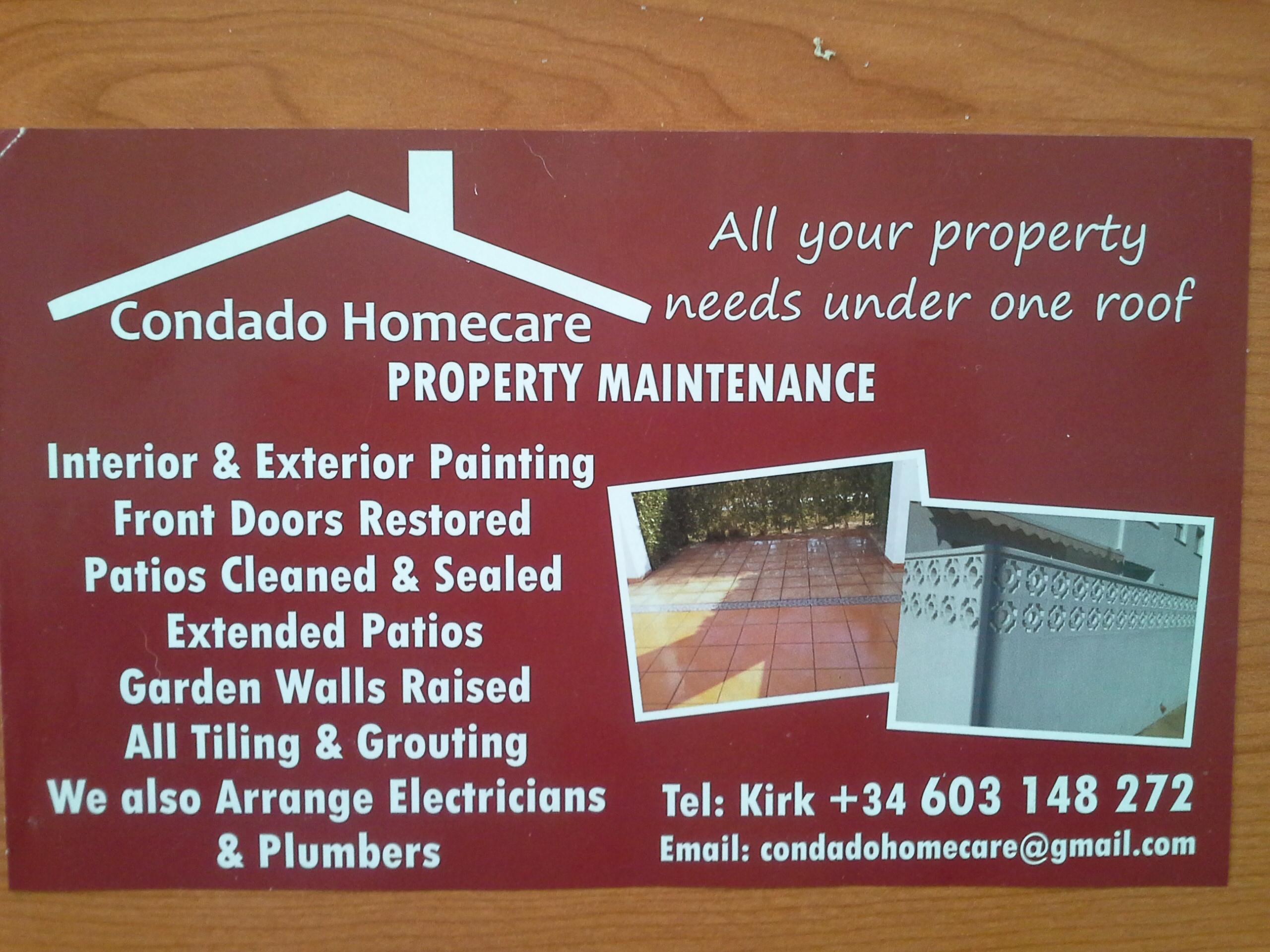 Condado Homecare Property Maintenance