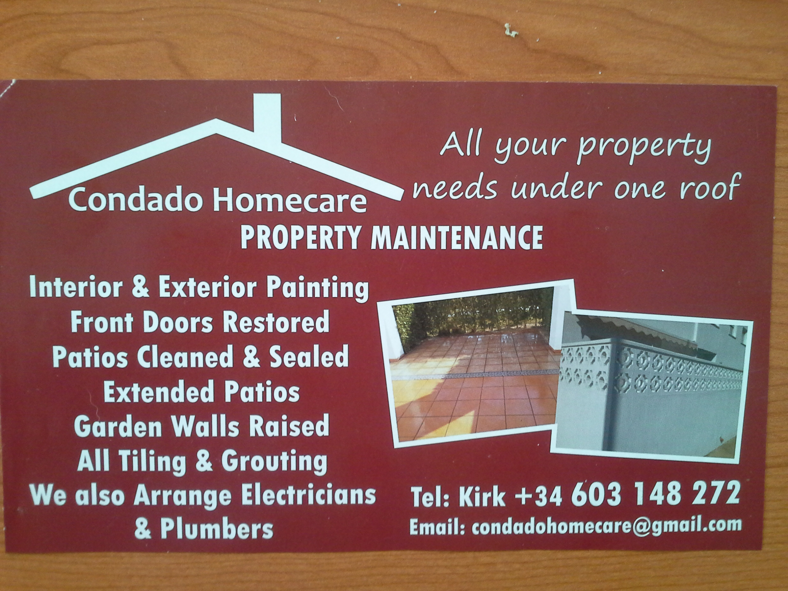 Condado Homecare Property Maintenance